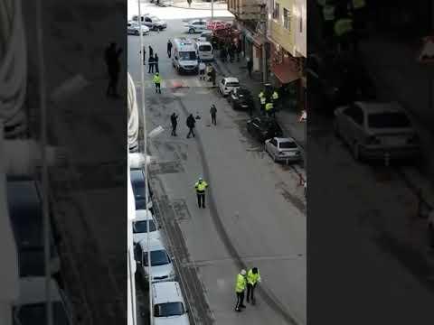 Eskişehir'de Adliye yakınlarında feci bir kaza gerçekleşti